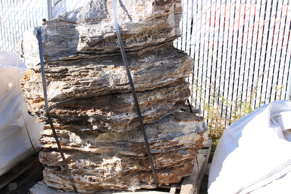 Arizona Stripped Salt and Pepper landscape rocks (Boulders)
